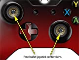 Smooth Fades Red Black - Decal Style Skin fits Microsoft XBOX One Wireless Controller (CONTROLLER NOT INCLUDED)
