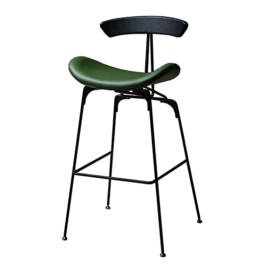 XZM-barstool Taburete de Bar de Piel IKEA con Respaldo ...