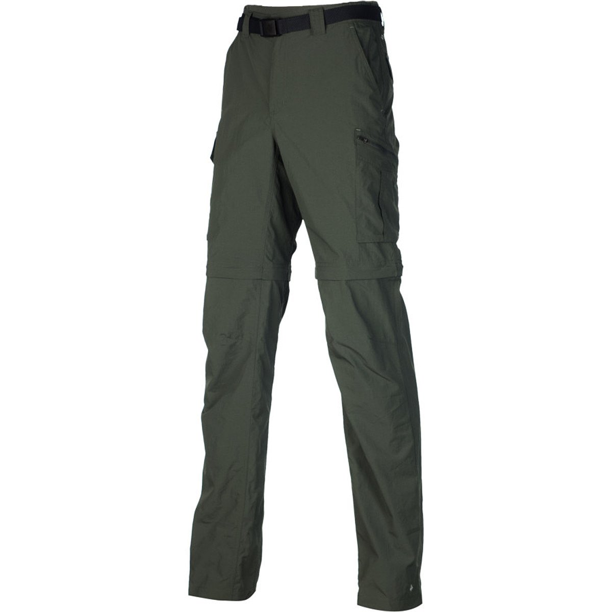 Columbia Men's Silver Ridge Convertible Pant, Gravel, 40 x 34