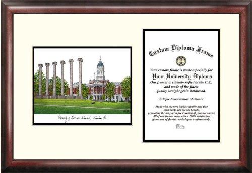 "Campus Images MO999V University of Missouri Scholar Diploma Frame, 11"" x 8.5"""