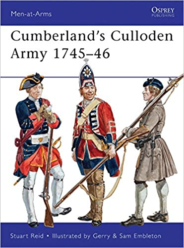Book Cumberland's Culloden Army 1745-46 (Men-at-Arms)