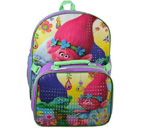 Dreamworks Trolls Backpack Detachable Lunch product image