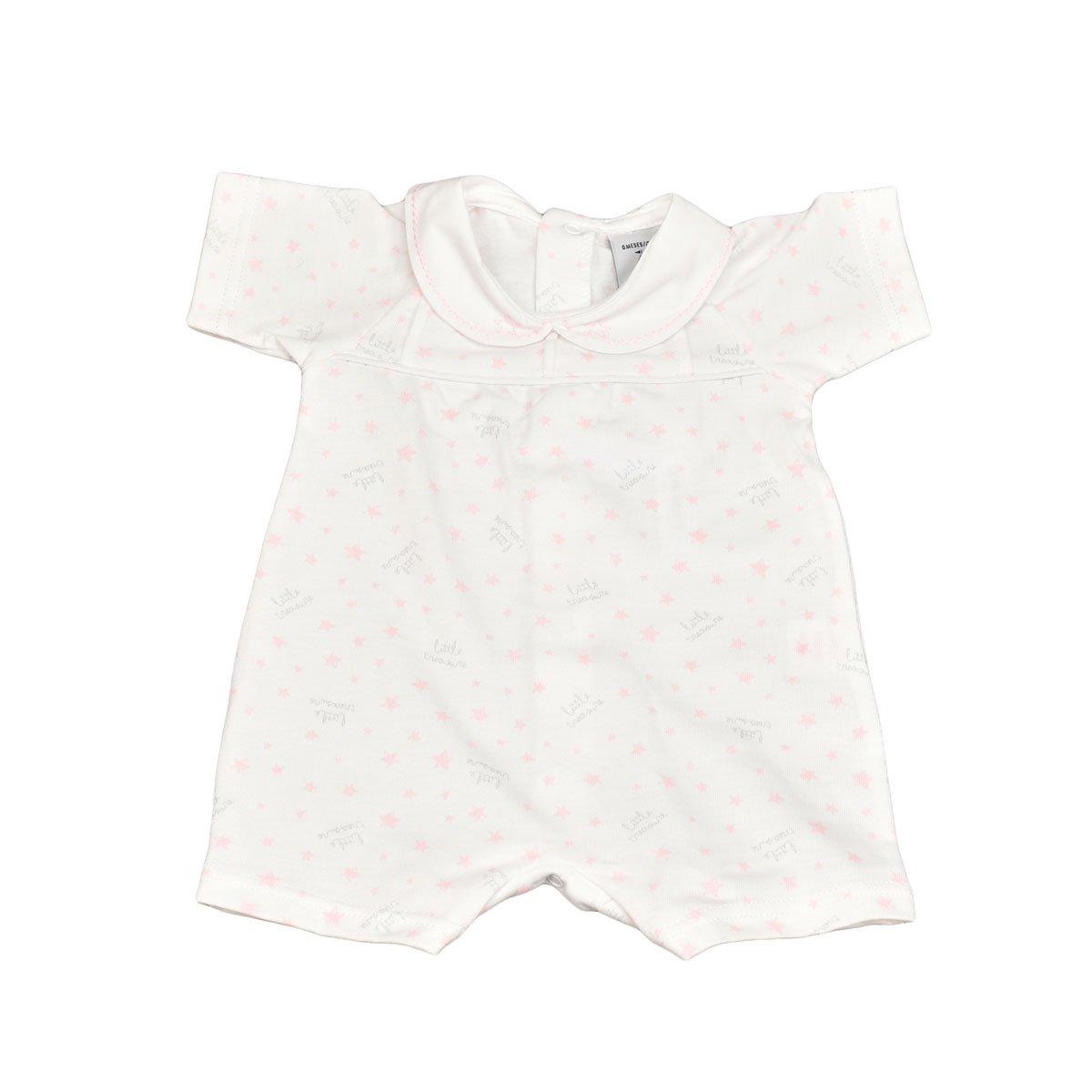 BABIDU 14234, Pelele Unisex bebé, (Rosa 001), 62 (Tamaño del Fabricante:3): Amazon.es: Ropa y accesorios