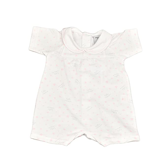 BABIDU 14234, Pelele Unisex bebé, (Rosa 001), 62 (Tamaño del