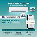 Panasonic 1 Ton 4 Star Wi-Fi Inverter Split Air Conditioner (Copper, Shield Blu Anti-Corrosion Technology, nanoe-G Air…
