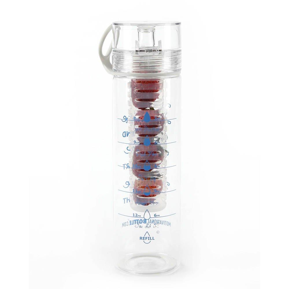 27oz Motivational Infuser Water Bottle