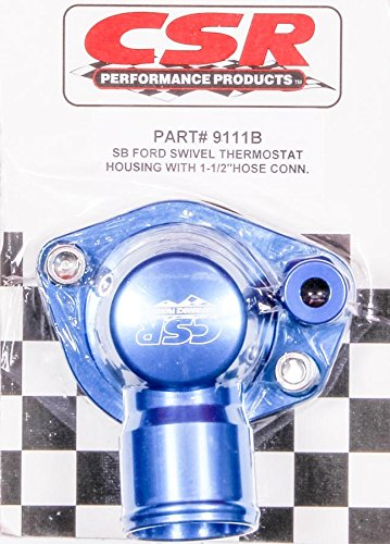 CSR Performance 9111B Blue Swivel Thermostat Housing by CSR Performance Products
