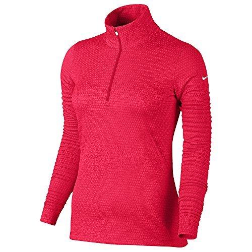 Nike Lucky Azalea Half Zip Golf Jacket 2017 Women Siren Red/White X-Large (Apparel Azalea)