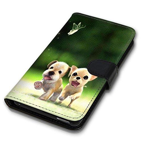 Wallet Book Style Flip Handy Tasche Case Schutz Hülle Schale Motiv Etui für Apple iPhone 5 / 5S - Design Flip MVD362