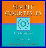 Simple Courtesies, Janet Gallant, 0762100621