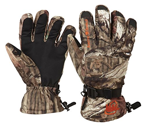 Arctic Shield Camo - ArcticShield Onyx-Arctic Shield-X-System Men's Lined Camp Gloves (Mossy Oak Infinity camo Pattern, Large)