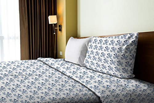 The Northwest Company Officially Licensed NCAA Notre Dame Fighting Irish Twin Sheet Set ()