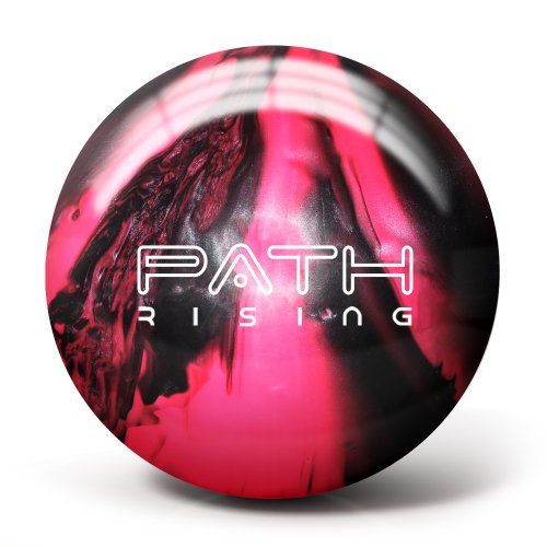 Pyramid Path Rising Pearl Bowling Ball (Black/Hot Pink, 8lb)