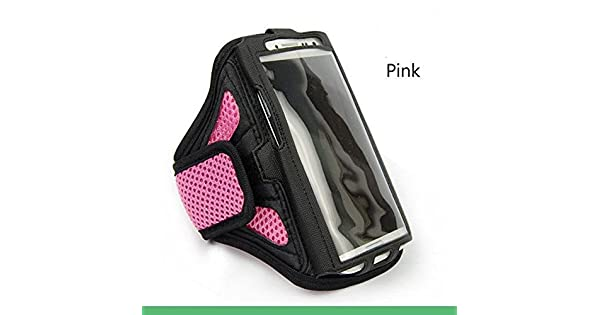 Amazon.com: pink SPORTS Armband Cases Gym Running starp ...