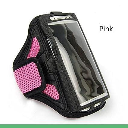 Amazon.com: pink SPORTS Armband Cases Gym Running starp ...