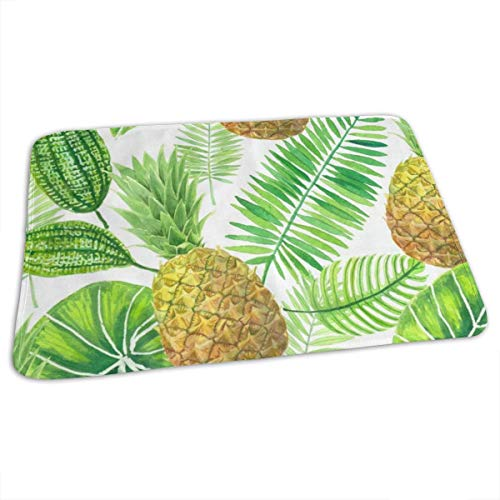 Changing Pad Pineapple Palm Tree Baby Diaper Incontinence Pad Mat Designer Adults Pee Pads Sheet for Any Places for Home Travel Bed Play Stroller Crib Car
