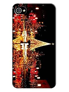 lorgz New Style fashionable Print Design for iphone 4/4s Hard Cover Durable Hard Plastic TPU