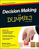 Decision Making For Dummies Front Cover