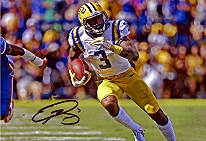 c8507e6ae9d Image Unavailable. Image not available for. Color  Odell Beckham Jr.   quot TD Sprint quot  Autograph Replica Poster ...