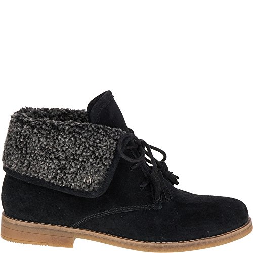 Puppies Marthe Suede Women's Hush Black HqUBHd