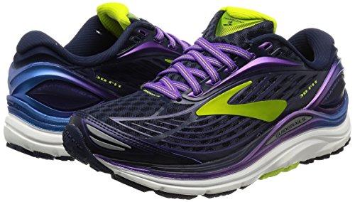 Course Chaussures Femme Brooks purple Transcend 4 De Peacoat P1FqI