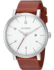 Nixon Mens A9452168 Rollo Analog Display Japanese Quartz Brown Watch