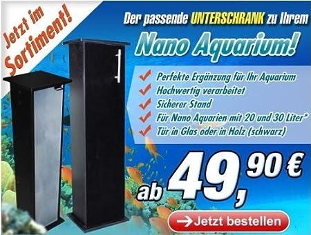 Aquael Nano Unterschrank mit Glastüre für 30 Liter: Amazon.de: Haustier