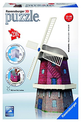 Windmill 3D Puzzle, 216-Piece