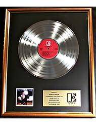 Hank Williams Jr. The Pressure Is On LP Gold Record Award Elektra Records