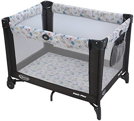 Graco Pack n Play Playard with Automatic Folding Feet, Carnival ...