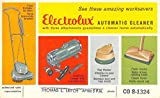 Electrolux Automatic Cleaner Vacuum Ad Vintage Postcard K76762