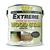 DEFY Extreme 1 Gallon Semi-Transparent Exterior Wood Stain, Cedar Tone
