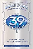 39 clue cards - The 39 Clues: Card Pack (v. 1)