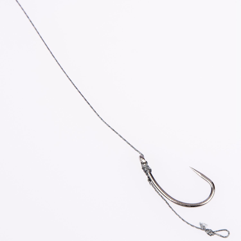 Hair Rigs Carp Fishing Course Fishing Sizes 6 8,10 Barbless Hooks 12lb Braid