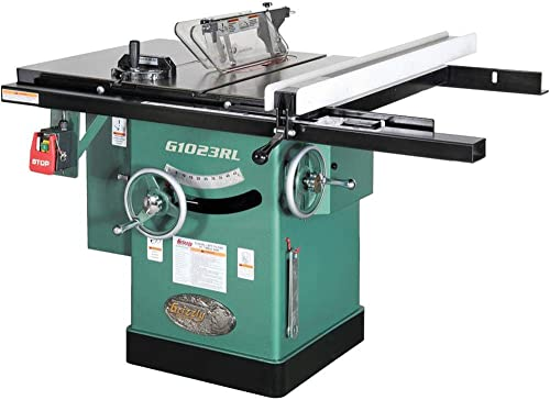 Grizzly Industrial G1023RL – 10 3 HP 240V Cabinet Table Saw
