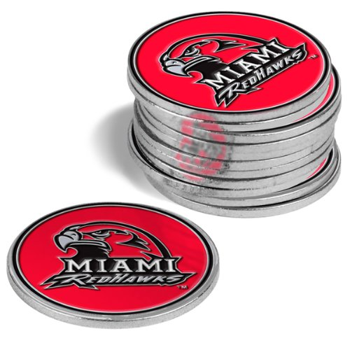 Redhawks Golf (Miami Redhawks Golf Ball Markers (4 Pack))