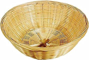 Sixby Bambus Korb Rund 20 Cm Amazon De Kuche Haushalt