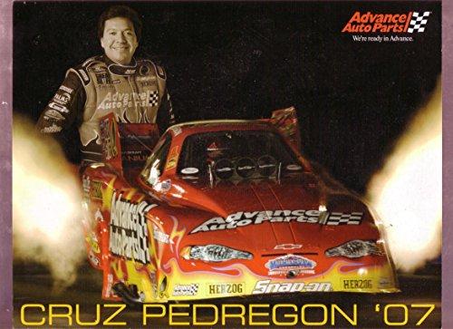 (CRUZ PEDREGON NHRA HERO FUNNY CAR 2007 VF)