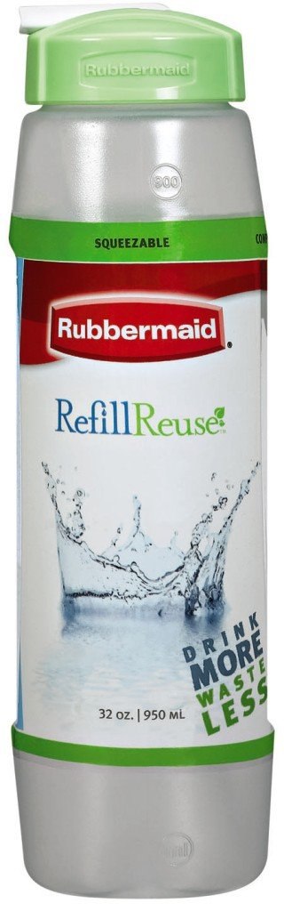 Rubbermaid Sip Bottle, 32-Ounce   (Pack of 8)