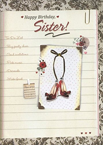 Amazon To Do List With Gems Tip On Shoes And Gold Foil Handmade Sister