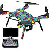 MightySkins Protective Vinyl Skin Decal for 3DR Solo Drone Quadcopter wrap cover sticker skins Bright Stones