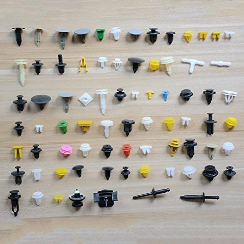 500tlg Befestigung Clips Türverkleidung Klammern Stoßstangen Niete Clips Sortiment Set Für Pkw Kfz Werkstattbedarf Baumarkt