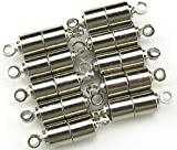 CrazyPiercing 10 PCS Silver Magnetic Clasps for Jewelry - Best Reviews Guide