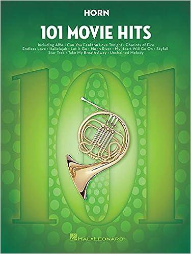 Amazon.com: 101 Movie Hits for Horn (0888680610838): Hal Leonard Corp.: Books