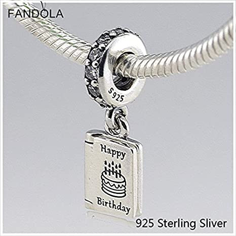 e29d434f3 Amazon.com: Fits Pandora Bracelet Jewelry 100% 925 Sterling Silver ...