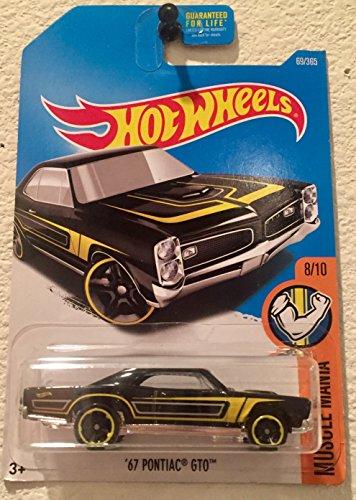 Hot Wheels 2017 Muscle Mania '67 Pontiac GTO 69/365, (Muscle Cars Gto)