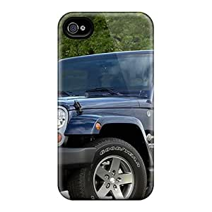 Snap-on Cases Designed For Iphone 4/4s- Jeep Wrangler Freedom Edition 2012