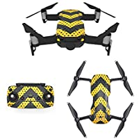 Waterproof Stickers Decal for Drone DJI Mavic Air Kit - Includes Drone Skin, Remote Controller Skin and Battery Skins (SL01)