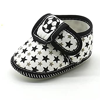 Amazon.com: Jieson Baby Girls Shoes, Newborn Star Boys Soft Sole ...