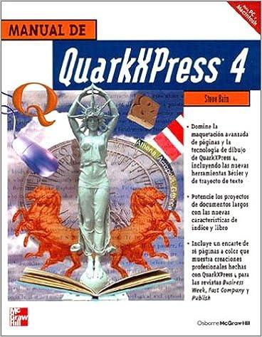 Descargar libros reales en pdf Manual quarxpress 4 en español PDF PDB CHM 8448123018